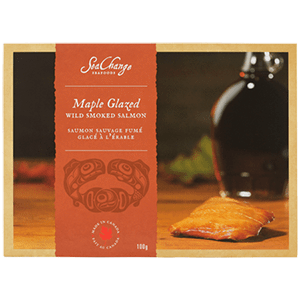 Maple Glazed Smoked Salmon - 100g