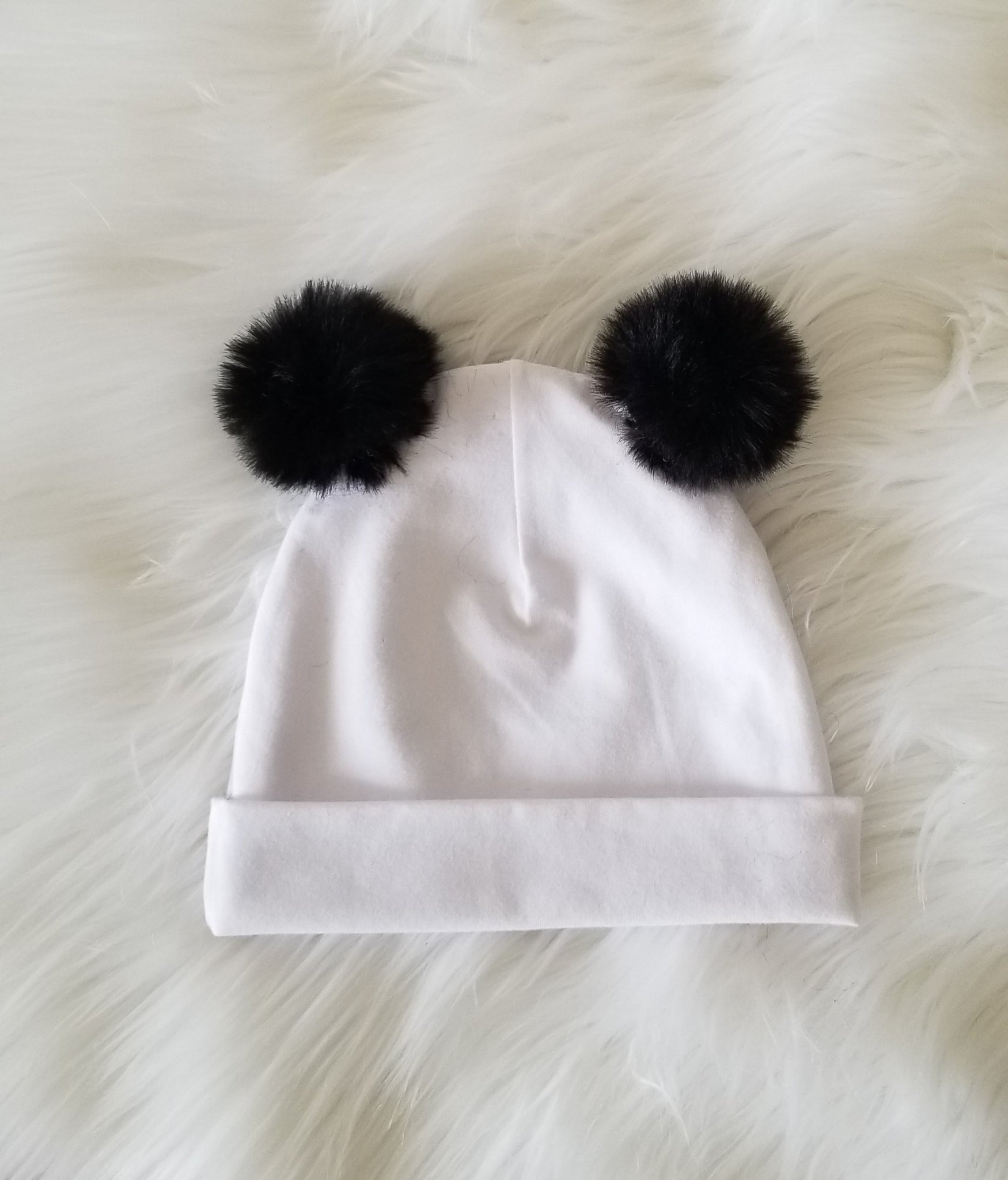 Hat- Double Faux Fur Beanie