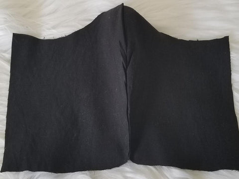 100% Cotton Black Fabric