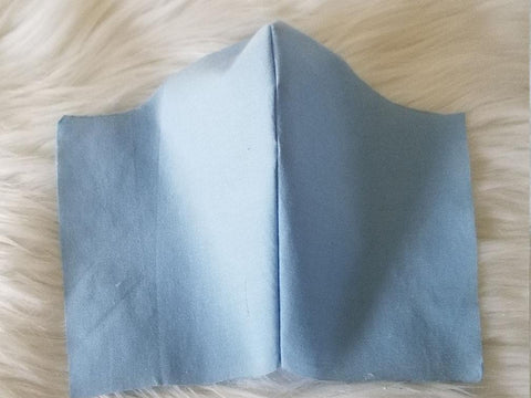 100% Cotton Baby Blue Fabric