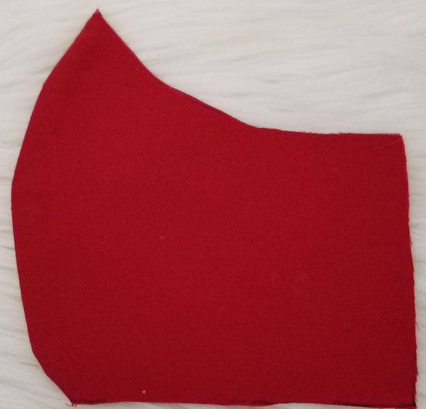 100% Cotton Red Fabric