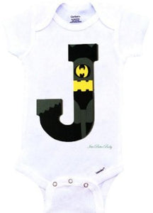 Batman Inspired Onesie