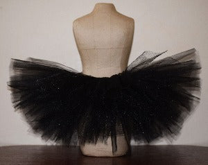 Black Sparkle Tutu Skirt