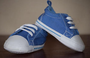 Shoes- Blue and White Sneakers