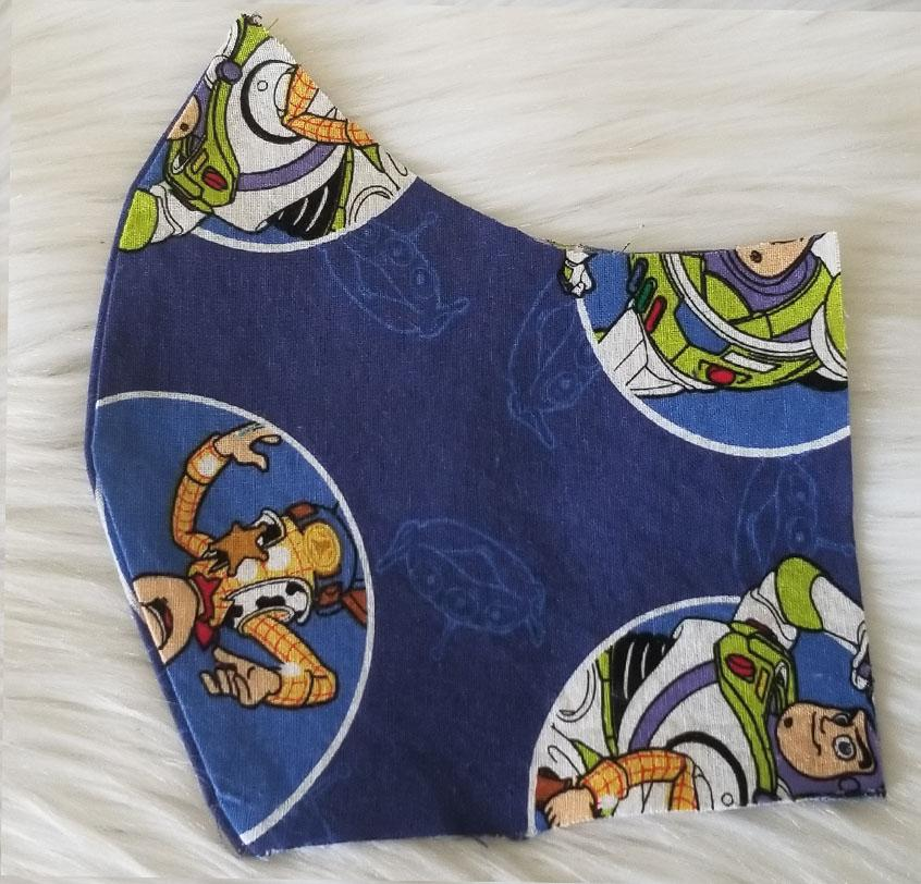 100% Cotton Woody and Buzz Fabric