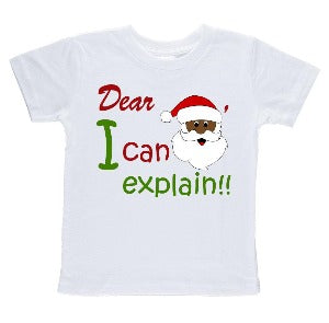 Dear Santa I can explain Tee