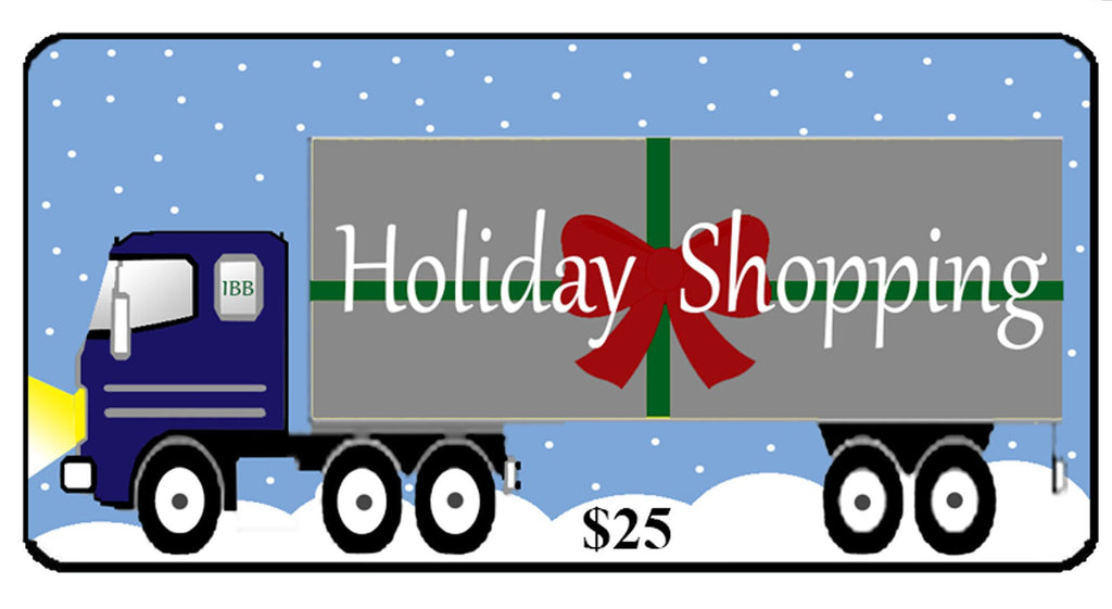 Holiday Shopping Gift Certificate