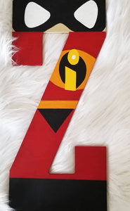 Incredibles Inspired Letter