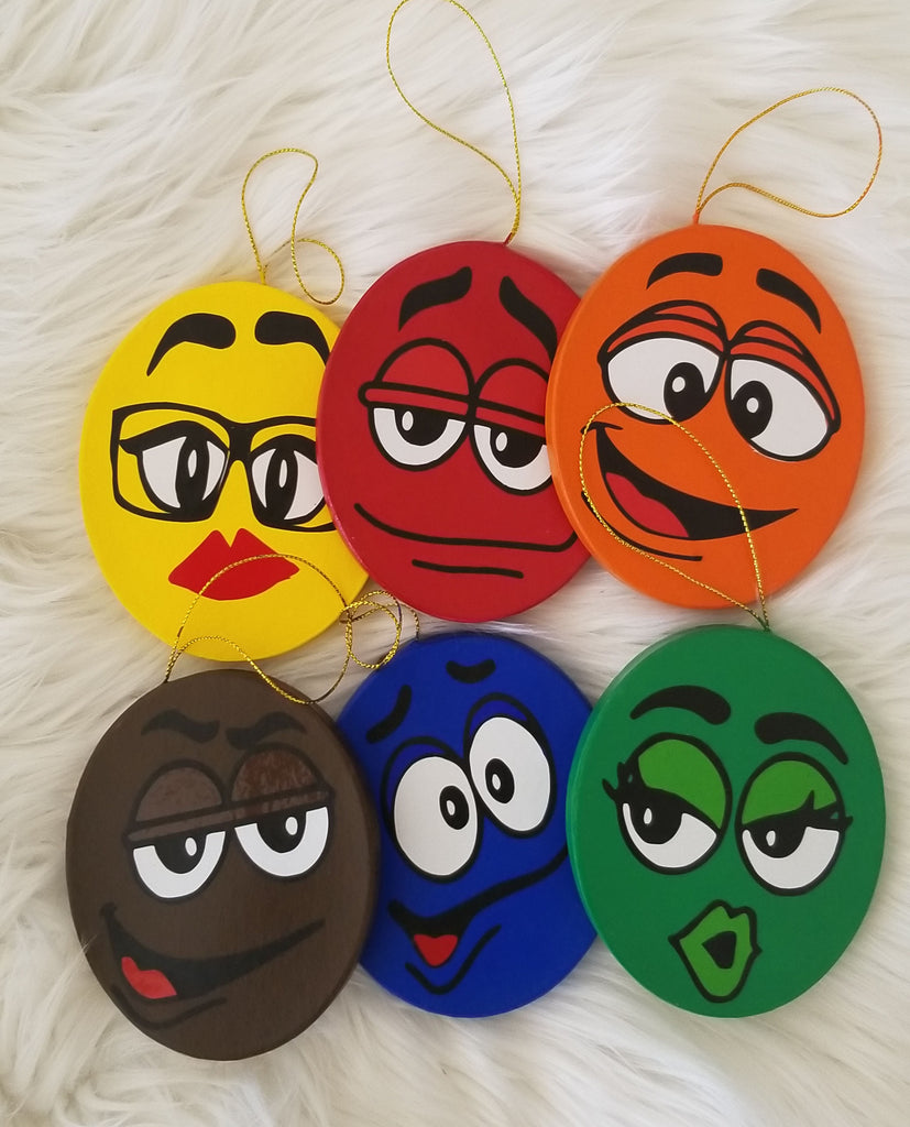 M and M Ornaments