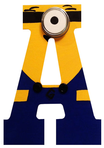 Minions Inspired Letter