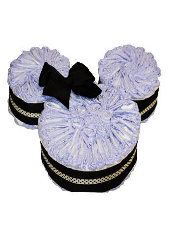 Minnie Mouse Sheet Diaper Cakes