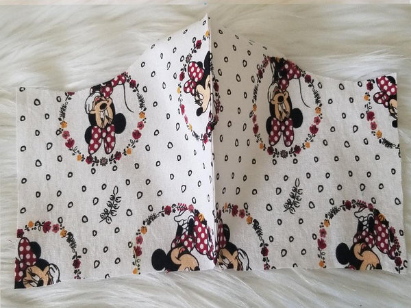 100% Cotton  Minnie Mouse Fabric