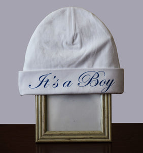 Hat- It's a Boy
