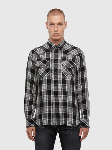 DIESEL S-EAST-LONG-TUB SHIRT