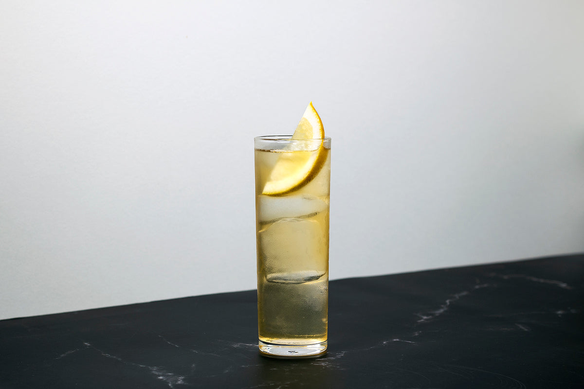 Whisky and gin cocktails