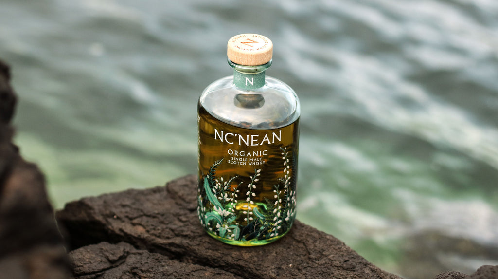 100% recycled glass whisky bottle - Nc'nean