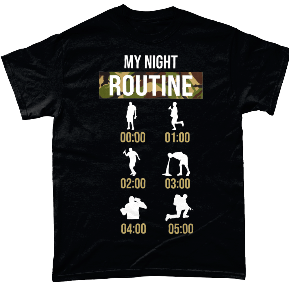 My Night Routine Unisex T Shirt