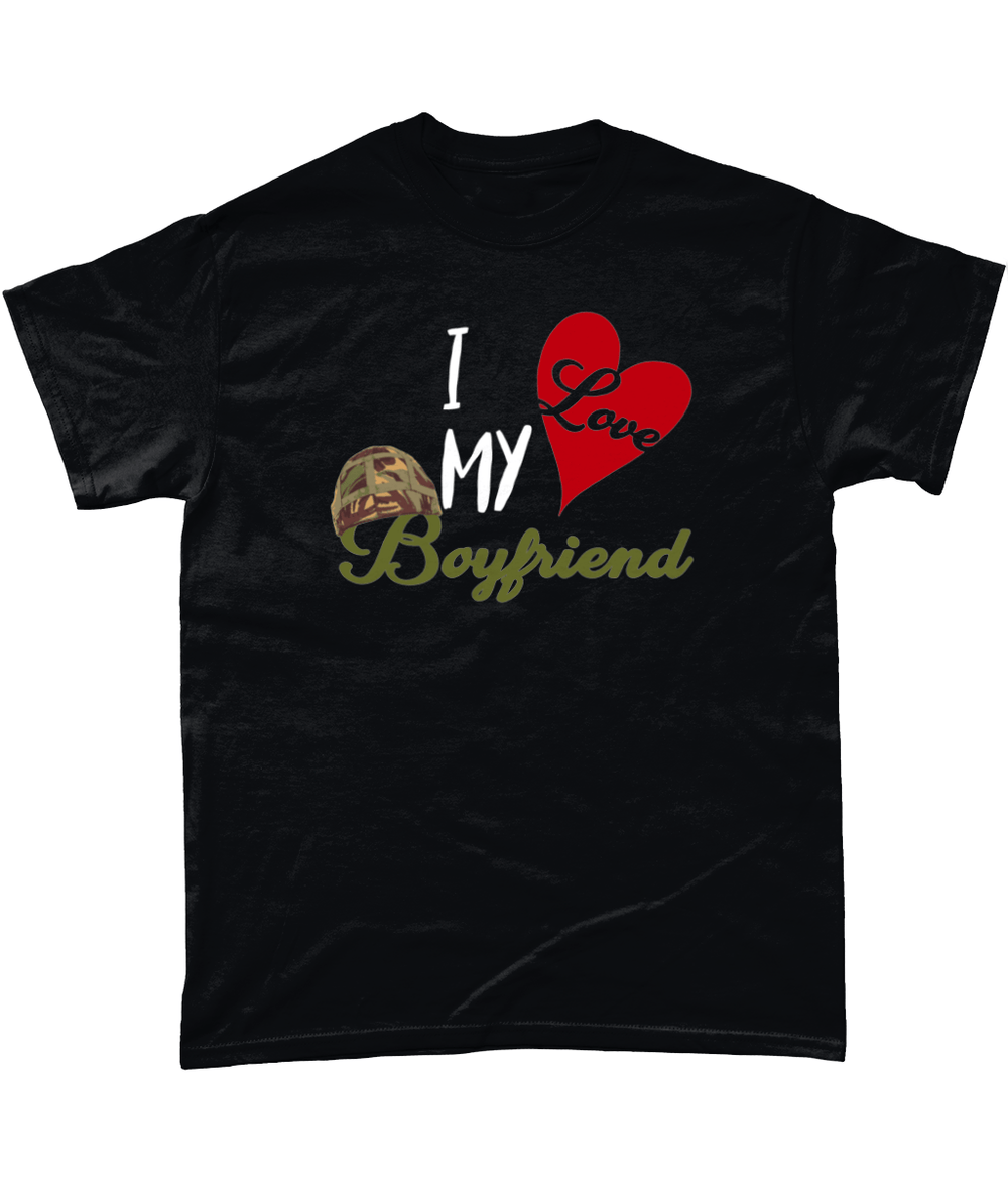 I Love My Boyfriend T Shirt