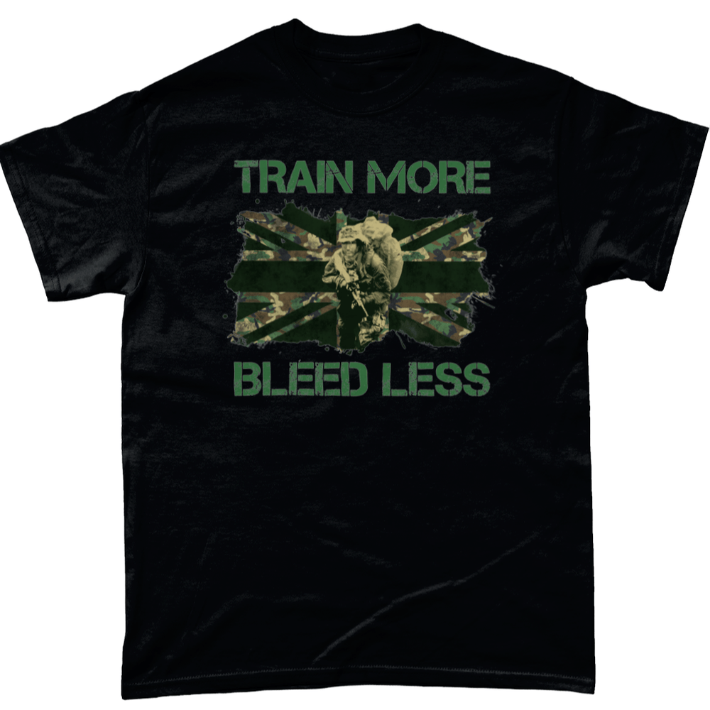 Train More, Bleed Less Unisex T Shirt