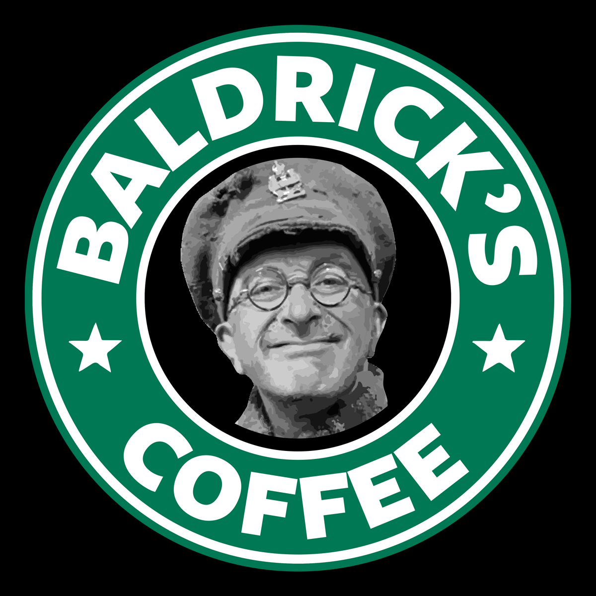 Baldrick's Coffee Unisex T Shirt