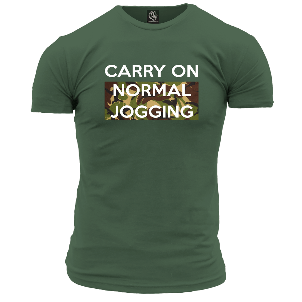 Carry On Normal Jogging Unisex T Shirt