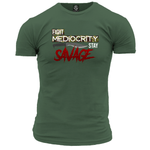 Fight Mediocrity Unisex T Shirt