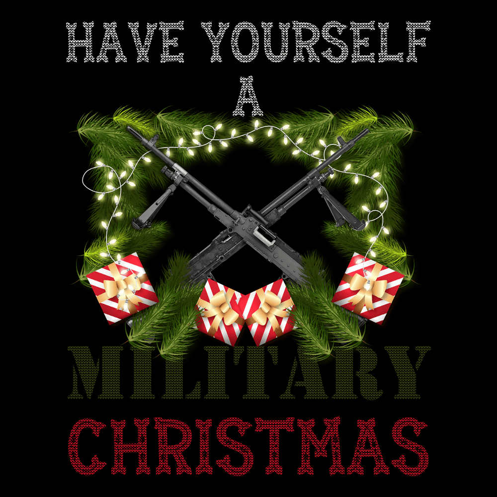Have Yourself A Military Christmas Unisex T Shirt