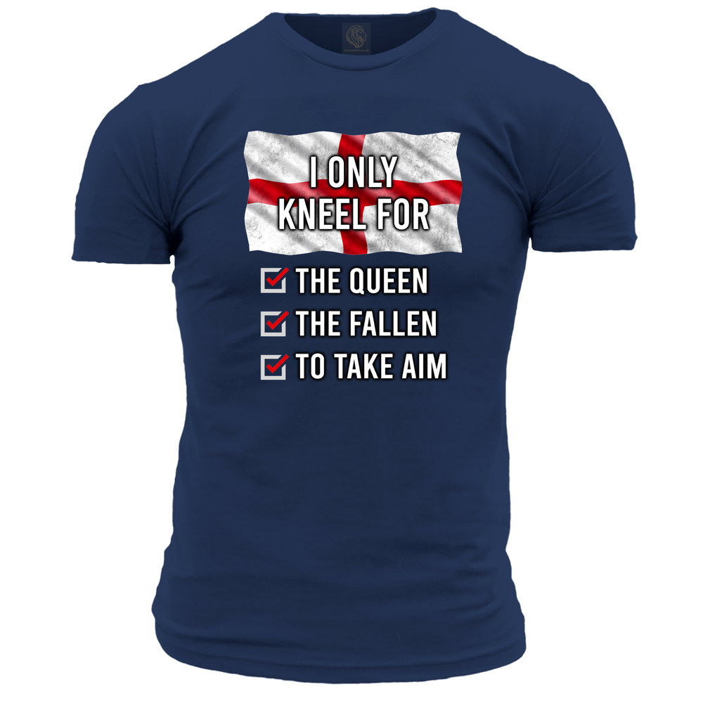 'I Only Kneel For...' (England) Unisex T Shirt