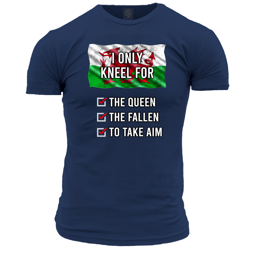 'I Only Kneel For...' (Wales) Unisex T Shirt