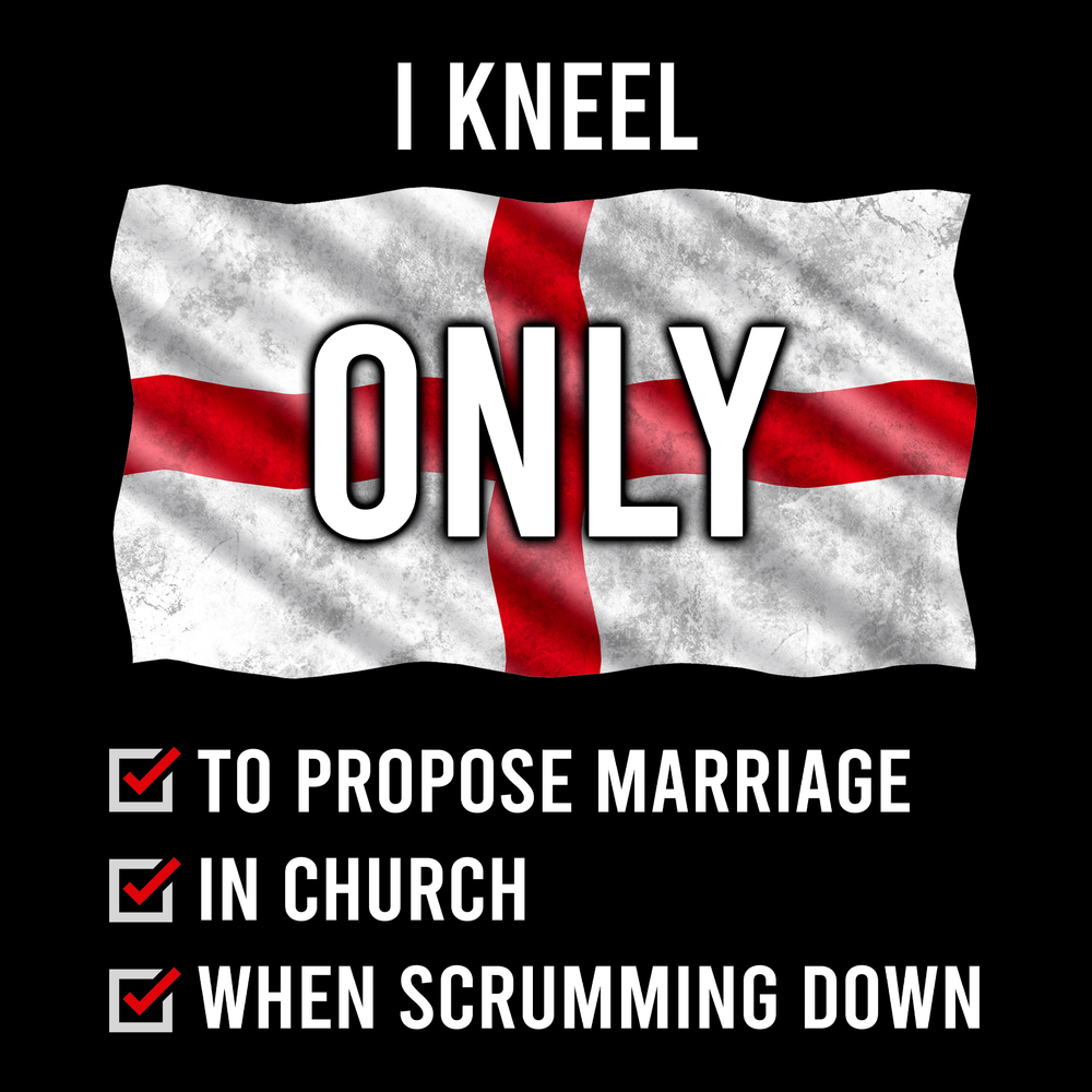I Kneel ONLY (Rugby) Unisex T Shirt