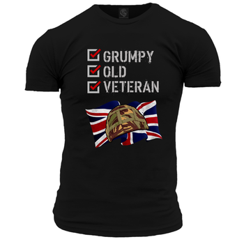 Grumpy Old Veteran Unisex T Shirt