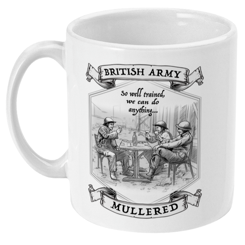 British Army Well Trained Mug
