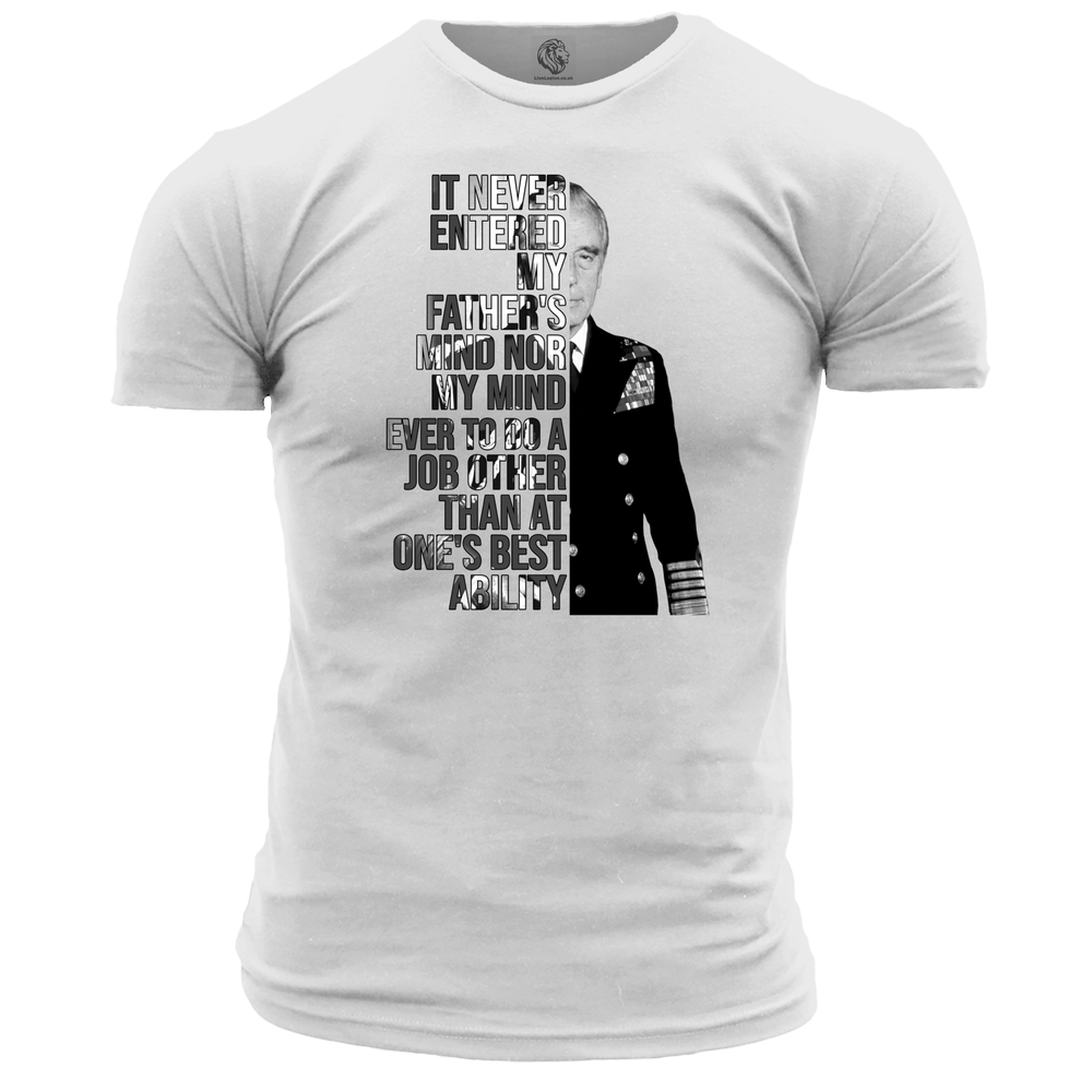 Montbatten Quote Unisex T Shirt