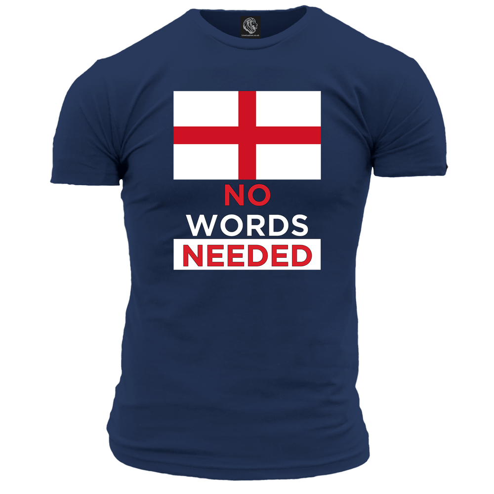 No Words Needed (England) Unisex T Shirt