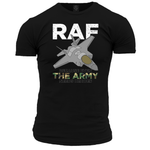RAF - Even the Army Need Heroes Unisex T Shirt