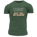 We May Not Have Served Unisex T Shirt