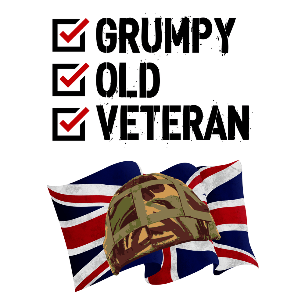 Grumpy Old Veteran Drinkware