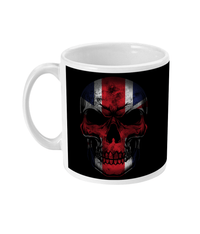 11oz Mug Flag Skull Drinkware