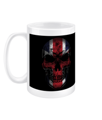 15oz Mug Flag Skull Drinkware