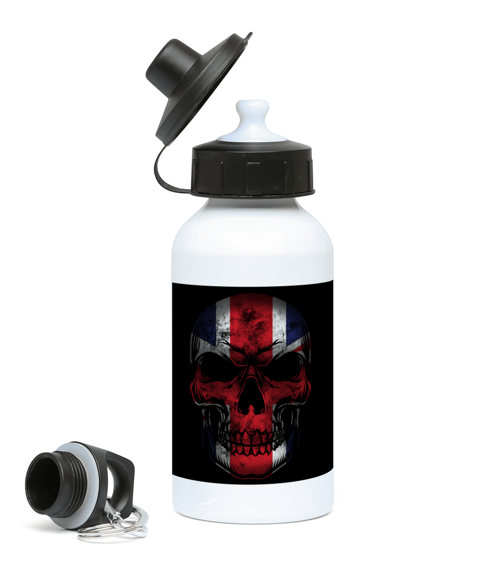 400ml Water Bottle Flag Skull Drinkware