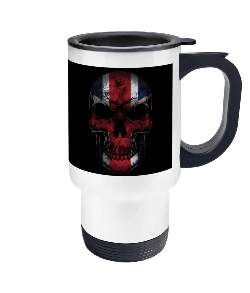 Travel Mug Flag Skull Drinkware