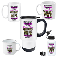 Super Sexy Veteran Wife Drinkware