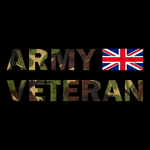 Army Veteran T Shirt (DPM)