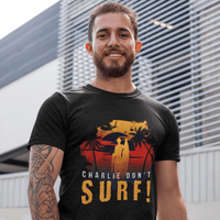Black / Small Charlie Don't Surf T Shirt