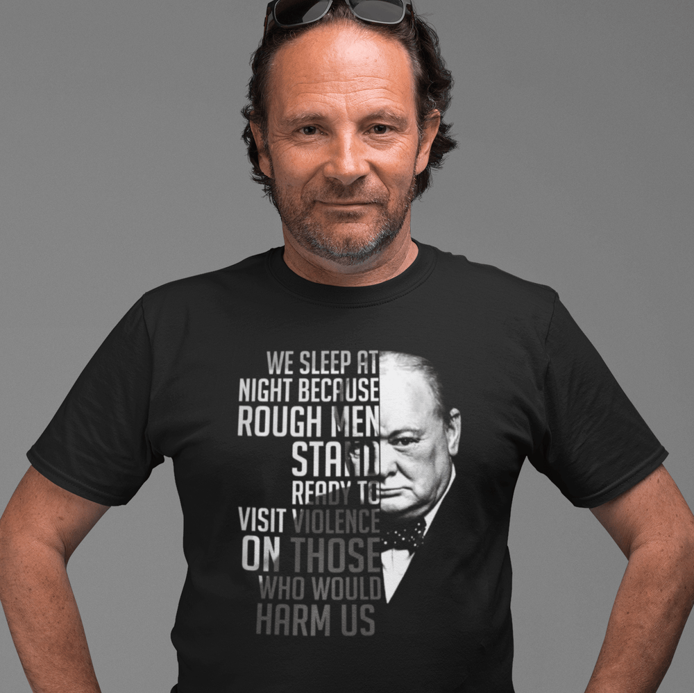 Churchill Rough Men T Shirt