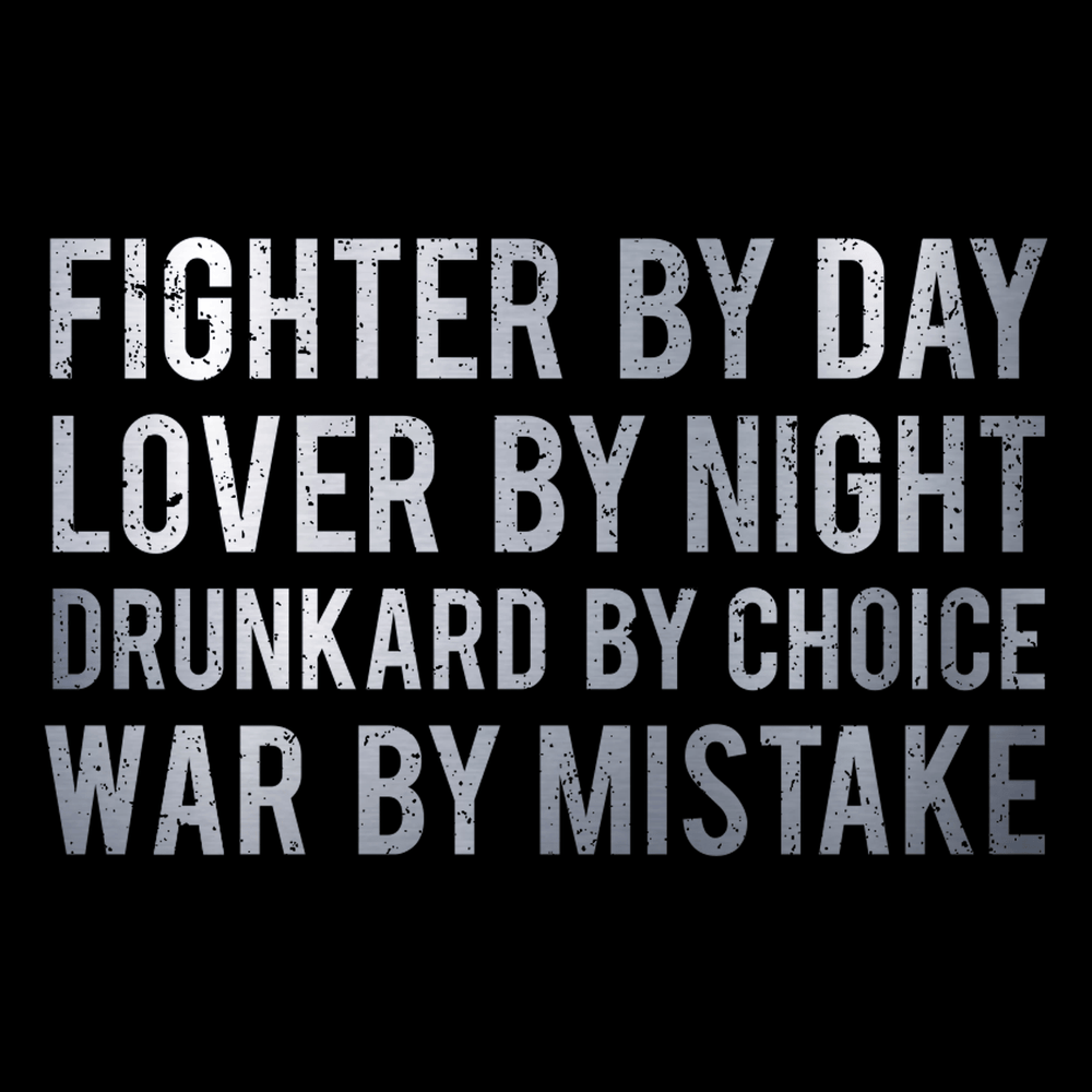 Fighter By Day Unisex T Shirt