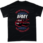 God Created The Army T Shirt