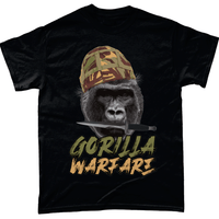 Black / Small Gorilla Warfare T Shirt