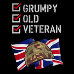 Grumpy Old Veteran T Shirt