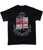 Black / Small I Was Made In The Navy T Shirt